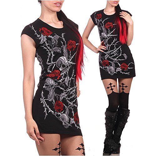Wild Star Hearts - BARBED WIRE ANGEL - Tunic Dress (XX-Large)
