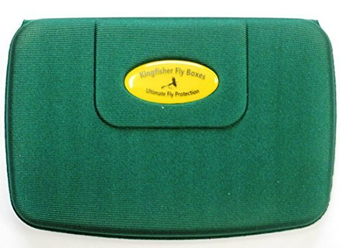 Kingfisher Large Lightweight Foam Fly Boxes – Will Float if Dropped