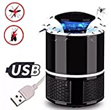 Electric Mosquito Trap Lamp, Electronic Mosquito Killer LED Light Insect Killer Fly Catcher Pest Control for Indoor and Outdoor Camping
