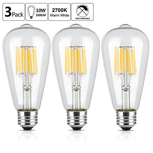 100 watt filament bulb - 8