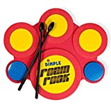 Kids Electric Drum Set with Foam Drum Pads, 4 Drumsticks, Speakers & Sounds,
