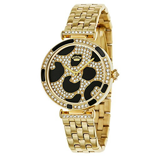 Juicy Couture Women's 1901169 J Couture Gold-Tone Watch