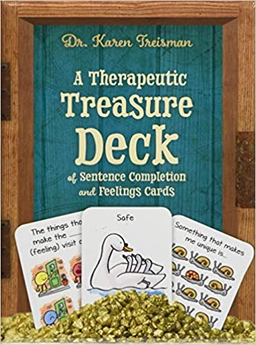 A Therapeutic Treasure Deck of Sentence Completion and Feelings Cards