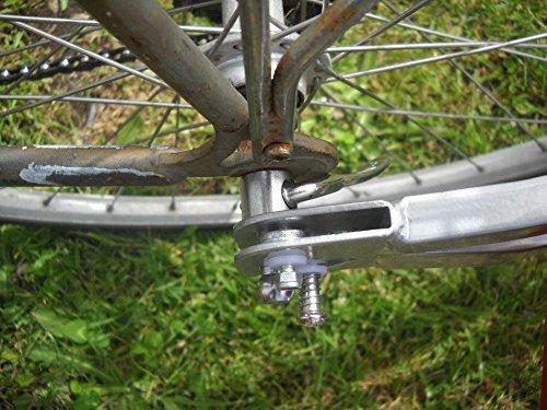 ebikeCo Remolque de Bicicleta de una rueda BICICLETAS Y PIRULETAS 6