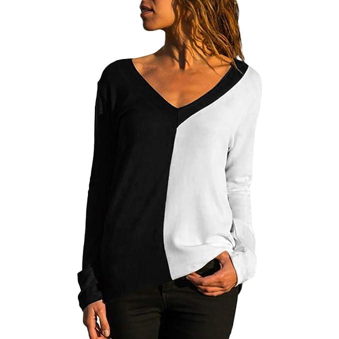Blusas Camisetas de Gasa Ropa de Mujer Camisas Manga Ajustable Blusas Top: Amazon.es: Ropa y accesorios