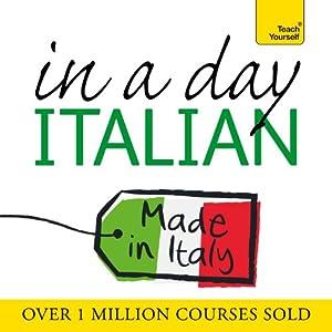 Italian in a Day Speech