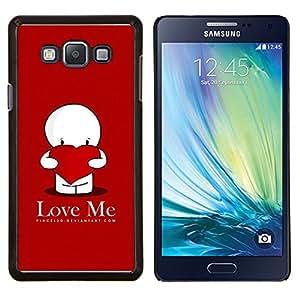 LECELL--Funda protectora / Cubierta / Piel For Samsung Galaxy A7 A7000 -- Quiéreme --
