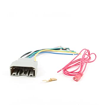 51hl0JI6ZsL._SY355_ amazon com stereo wire harness dodge grand caravan 08 09 10 11 2012 dodge grand caravan stereo wiring harness at reclaimingppi.co