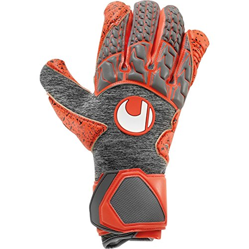 - uhlsport AERORED SUPERGRIP HN Goalkeeper Gloves Size 8