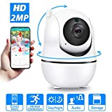 Auto Tracking 2MP 1080P IP WiFi Camera Mini Cloud Storage IP Camera Wireless Motion Detection Two Way Audio Home Security Camera