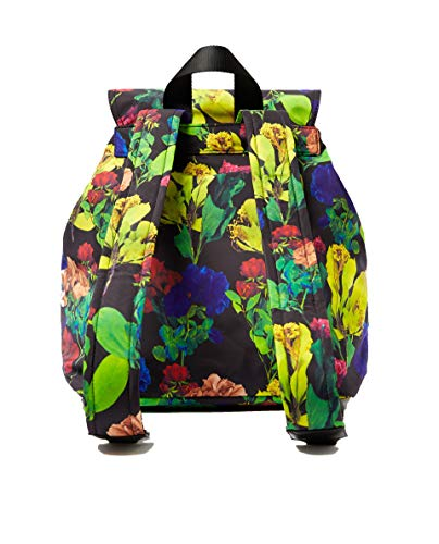 large roses Femme Bimba y Lola 182BBMN2Z backpack Black waXFZBFnq