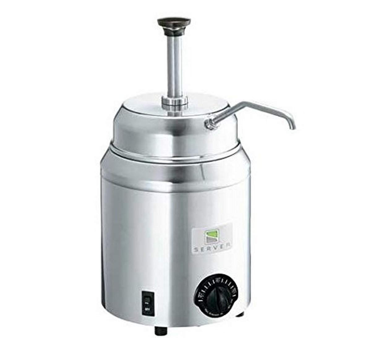 Server Products FSP-82060 Topping Warmer with Pump, 120V, 3 Quart, Steel