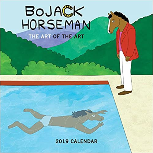 Bojack Horseman 2019 Calendar: The Art of the Art