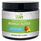 Mango Butter 16oz- 100% Pure, Raw, Unrefined, Natural Mango Butter-Skin Nourishing, Moisturizing & Healing, for Dry Skin, Hair Shine - For Skin Care, Hair Care & DIY- Made in USA