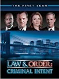 Law & Order Criminal Intent - The First Year by Universal Studios