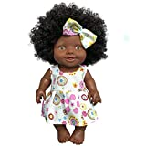 Winkey Toys Kids Children, Baby Movable Joint African Black Doll Toy