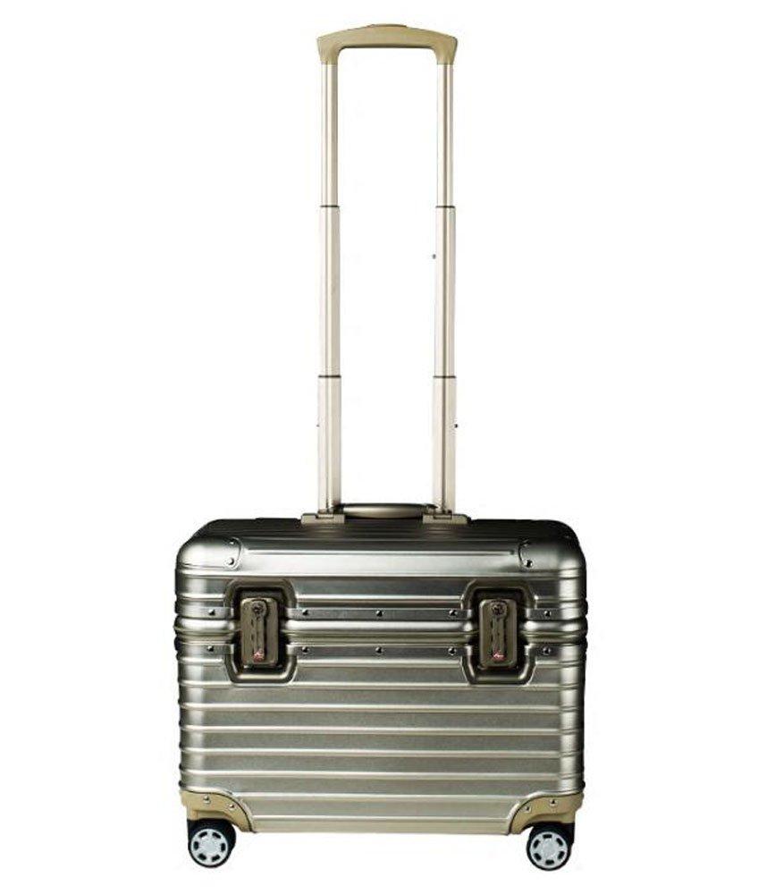 S-cas-028 17/20/22インチ スーツケース ビジネスケース 旅行バッグ トランク アルミ製 キャリーケース B07CP2FHW9 17インチ チタンゴールド チタンゴールド 17インチ