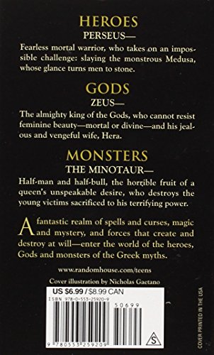 Heroes gods and monsters of the greek myths by bernard evslin