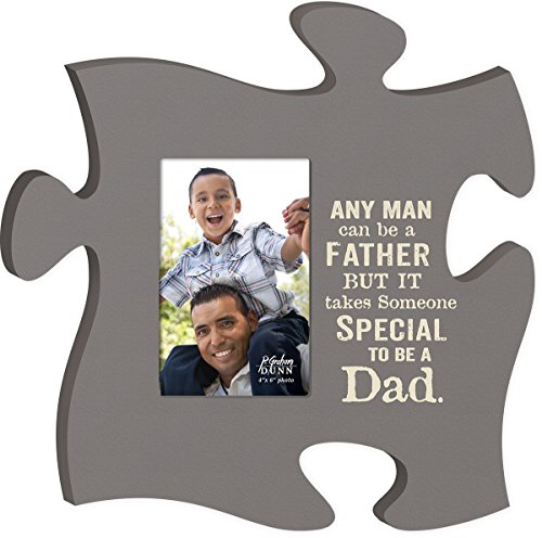P. Graham Dunn Takes Someone Special to Be A Dad 4x6 Photo Frame Inspirational Puzzle Piece Wall Art Plaque ()