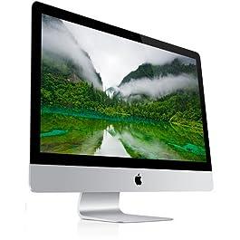 Apple 27″ iMac Desktop Computer, Intel Core i7-2600, 8GB RAM, 1TB HDD MD096LL/A (Renewed)