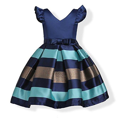 Bcaur Girls Short Petal Sleeve Princess Dress Part…