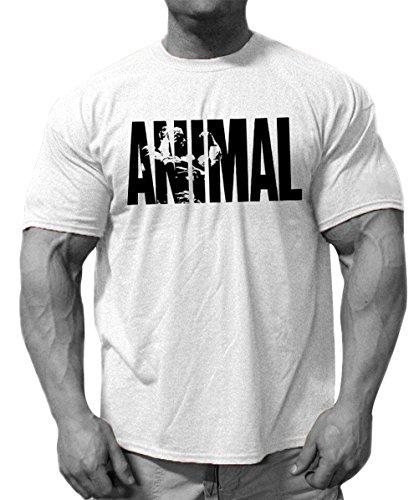 Mailiw Mens 3D Printed Bodybuilding Gym Fitness Workout Short Sleeve O Neck T Shirt