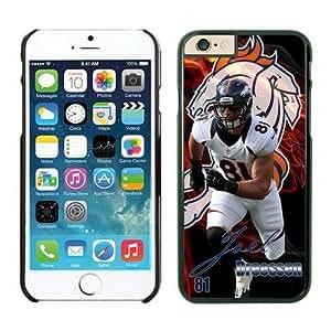 NFL Denver Broncos Joel Dreessen Case Cover For LG G2 Black NFL Case Cover For LG G2 12731