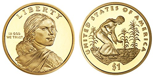 2009 S Sacagawea Native American Three Sisters Proof Dollar PF1