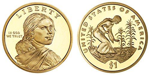 2009 S Sacagawea Native American Three Sisters Proof Dollar PF1
