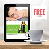 Organic Castor Oil - 100% USDA Certified Pure Cold Pressed Hexane free + eBook - Boost Growth For Eyelashes, Hair, Eyebrows. Fortify Nails, Skin, and Face with Treatment Applicator Kit, 1oz (30ml)
