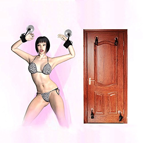 Suction Cup Handcuffs Ankle Cuffs BDSM Bondage Sex Toys Sex Erotic Products Fetish Slave Restraints Adults Games for Women Ankle