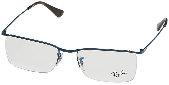 Ray-Ban Herren 6335 Brillengestelle, Schwarz (Negro), 56