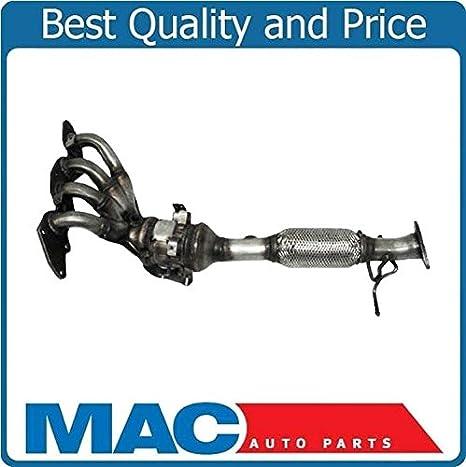 Para Mazda 3 04 - 09 2.3L con las emisiones de Federal trasero colector Catalizador: Amazon.es: Coche y moto