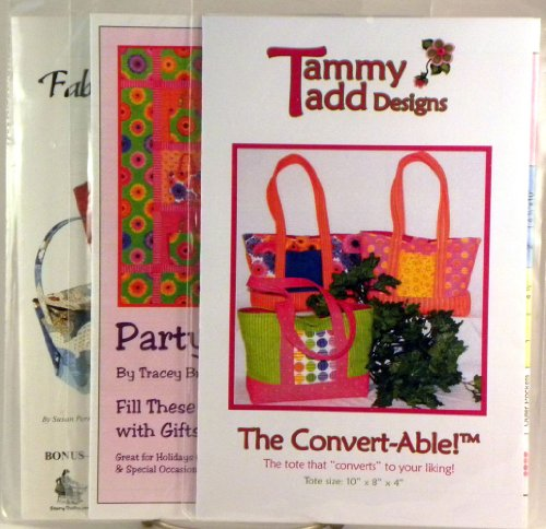 Fabric Tote Bags and Takeout Boxes Pattern (Take Out Box Template)