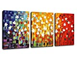 Best Office Art - ARTEWOODS Wall Art Canvas Painting Pictures Prints Colorful Review