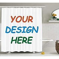 KOTOM Professional Custom Shower Curtain (60x70