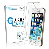 iPhone SE Screen Protector ,Yootech iPhone 5 5S 5C SE Tempered Glass Screen Protector for apple iPhone 5,5S,5C,SE