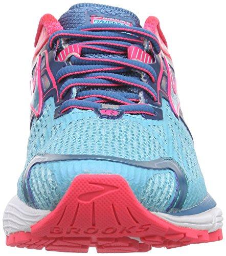Brooks Ravenna 6 - Zapatillas de deporte Mujer Azul - Blau (Capri/Celestial/DivaPink)