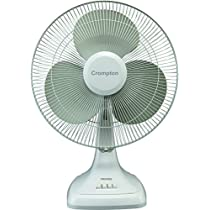 Crompton Trendz 400mm Table Fan  Opal White  available at Amazon for Rs.1677