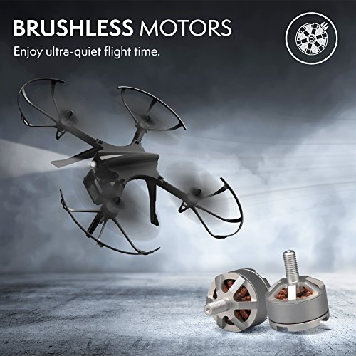 """51hl79sxQYL - GoPro Compatible HD Camera Drone - """"Force1 F100"""" Brushless Motor Drone for Beginners and Pros Extends Drones Flight Time (Camera Not Included)"""
