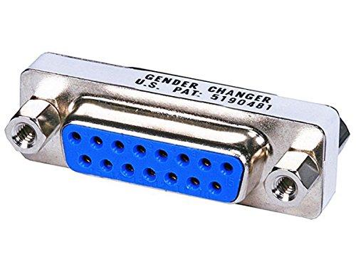 Monoprice DB15 F/F Mini Gender Changer (101188) (Db15 Mini Gender Changer)