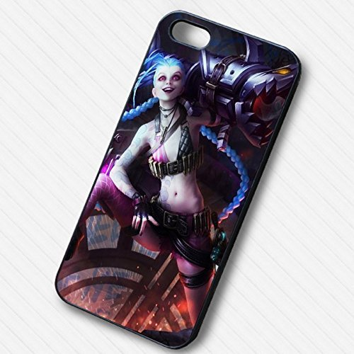 JinX lol for Cover Iphone 7 Case S4I2VK