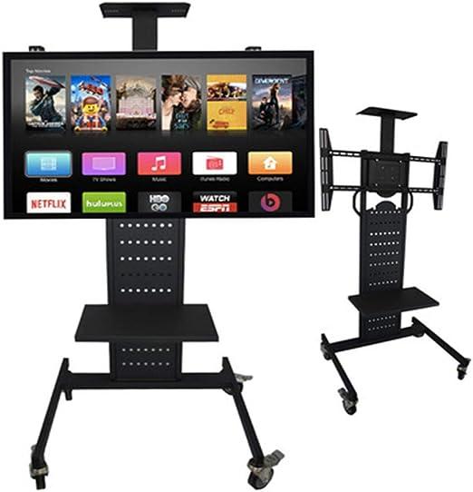 CRZJ Soporte móvil de Suelo para Pantallas Base de TV de Mesa, Se Puede Instalar un televisor LCD de hasta 32-70