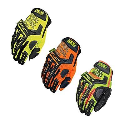 Mechanix Wear - Hi-Viz M-Pact Work Gloves Large