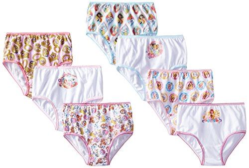 Disney Toddler Girls Palace Pet 7 Pack Panty, Assorted, 4T (Pet Diaper Panty)
