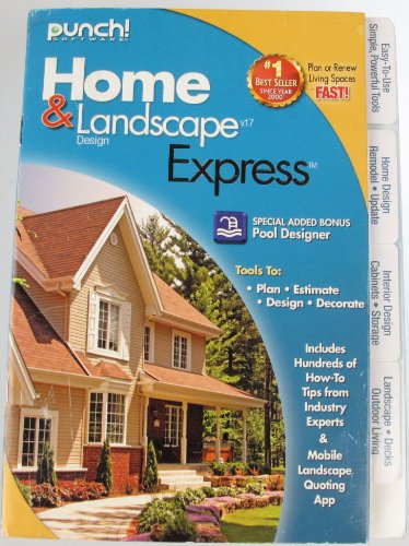 (Home & Landscape Design Express V17 by Punch Software)