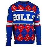 Klew Buffalo Bills Exclusive Argyle Sweater Large