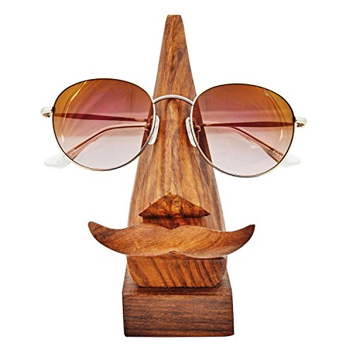 ... Rosewood Reading Glasses Stand Spectacle Stand Or Eye Glass Holder  Wooden Tabeltop Display Stand 6 Inches Birthday Housewarming Gift Ideas  (Design 3)