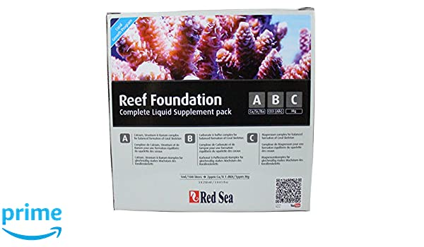Amazon.com: Red Sea Reef Foundation Liquid Supplement Pack: Garden & Outdoor