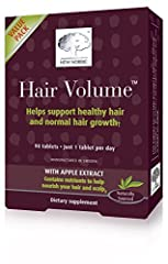 Hair Volume is based on vitamins, minerals and innovative hair growth factors from apples. The composition is a unique innovation and a reinvention of the old hair, skin and nail tablet. Thousands of people has already experienced the benefit...